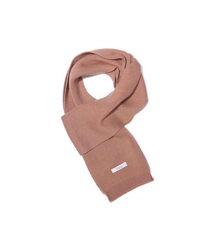 SOFT WOOL MUFFLER[DUSTY CORAL]